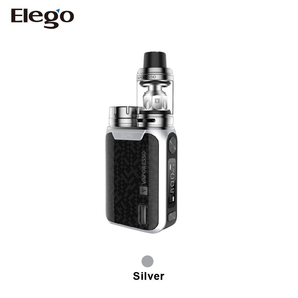 Alibaba China E cig supplier Vaporesso Swag Kit , 2ml/3.5ml Vaporesso Swag with NRG from Shenzhen Elego
