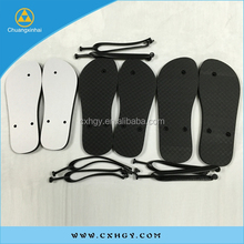 OEM manufacturing custom rubber sandals cheap wholesale blank sublimation flip flops