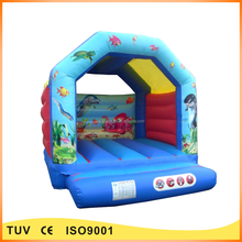Cheap outdoor inflatable bounce house banners for sale