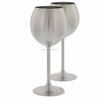new design private label 300ml 10oz Double wall stainless steel vacuum insulated wine glass cup