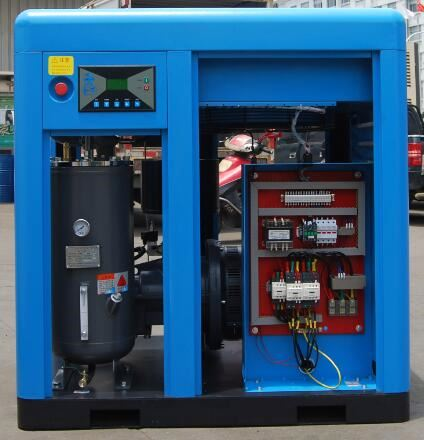 Shanghai direct driven 55kw durable screw air compressor supplier