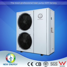 -25c air to water 10kw 15kw 20 kw 38kw 72kw monoblock DC Inverter EVI heat pump for heating and cooling 12kw