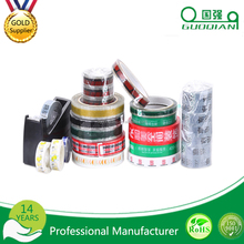 wholesale 2016 Plastic Strong Adhesion Bopp Packaging Tape With Printed Logo
