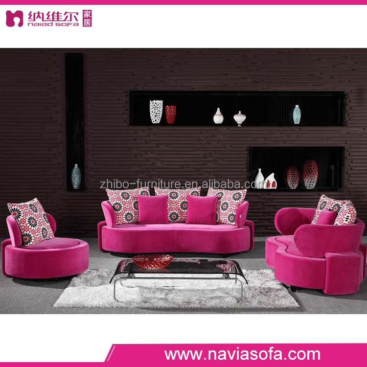 2016 latest living room sofa furniture modern design fabric sectional sofa sala set