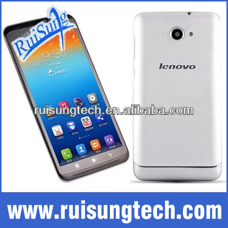 "original lenovo s930 MTK6582 Quad Core 1.3GHz 6"" IPS 1280x720px 8GB ROM Android 4.2 8.0MP Camera WCDMA mobile phone"
