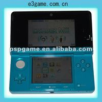 blue popular handheld game consolefor nintendo 3ds handheld game player