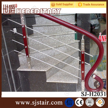wrought iron wood rod bar railing handrails outdoor stairs