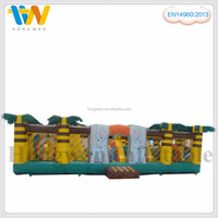 Hot sale obstacle inflatable fun city jumping amusement park toy for kids