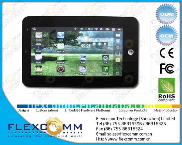 VIA 8650 based 7-inch Android 2.2 Tablet