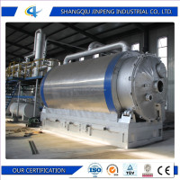 Waste Tire Recycling to Oil Machine with CE ISO and SGS/Used Medical Solid Waste Disposal Equipment