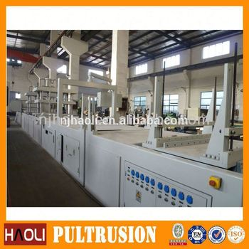 2017 hydraulic fiberglass pultrusion pu tubing machinery in good conditional