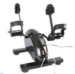 Leg rehabilitation bike pedal exerciser for elderly