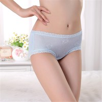 Wonderful handfeeling viscose women panty high quality women underwear solid color lady underwear sexy photo