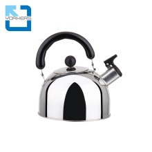 High-quality stainless steel <strong>flat</strong> bottom tea pot whistling kettle