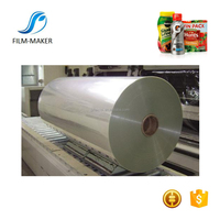 Super Clear Roll Shrink Label Printing Plastic PVC Film