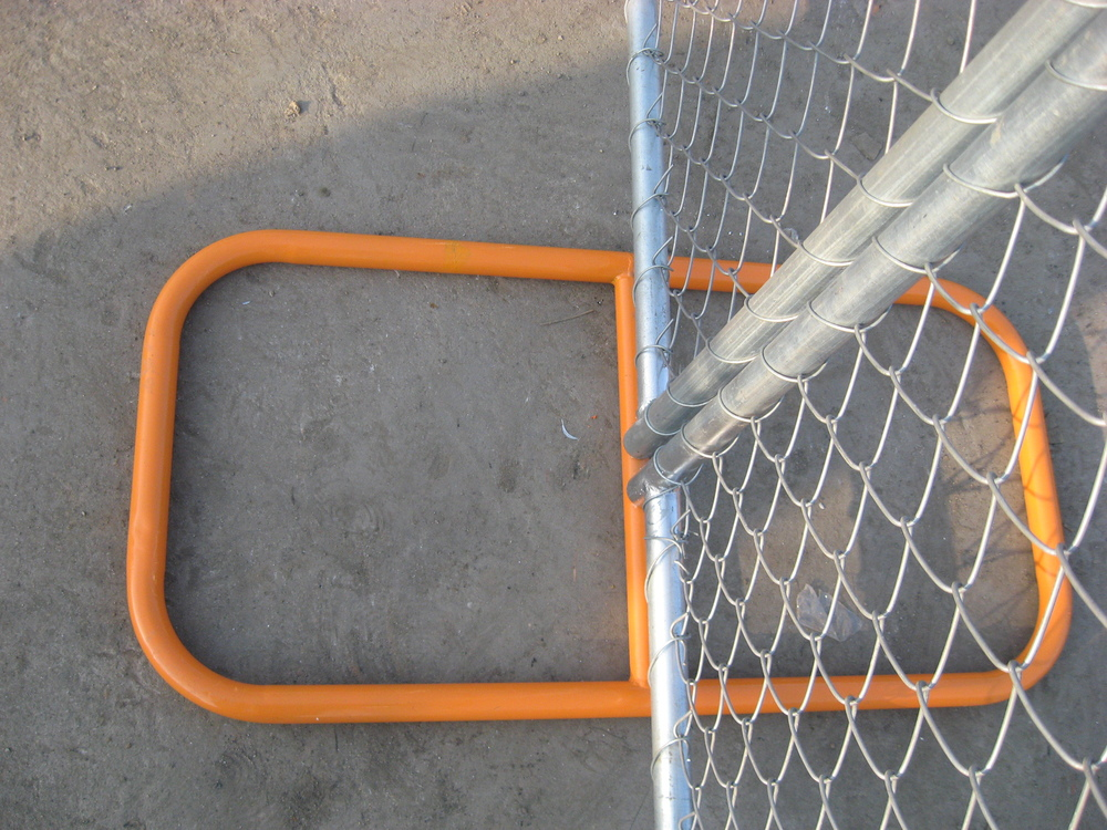 High Visibility Temporary chain link Fence Panels/construction chain wire fencing panels direct factory