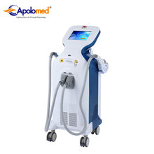 Floor standing professional shr ipl laser hair removal beauty machine