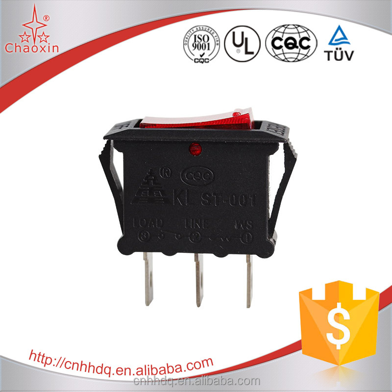 Wholesale Illuminated ON-OFF SPST Rocker Switch 125V 16A 250V