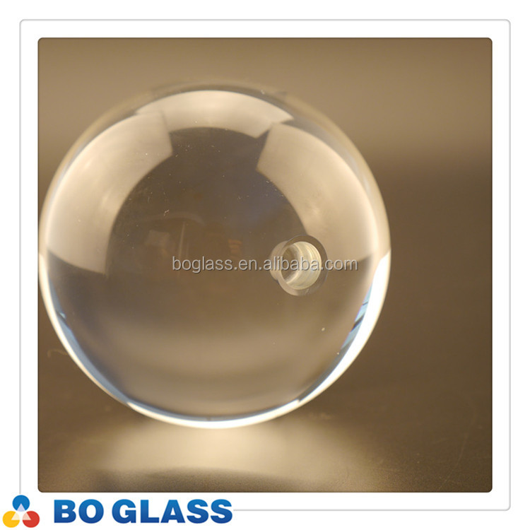 Hot sale crystal glass ball, crystal glass globe in high quality
