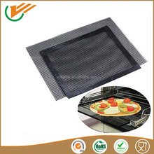 Food grade teflon material heat resistant non-stick mesh baking sheet