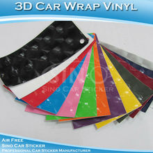 Self Adhesive 3D Cat Eye Car Wrapping Vinyl Roll 1.52x30m