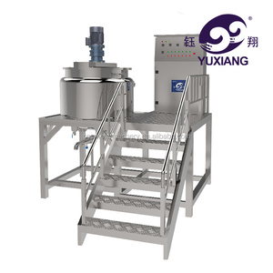 stainless steel 500L liquid soap mixer/shampoo making machine/liquid mixing reactor