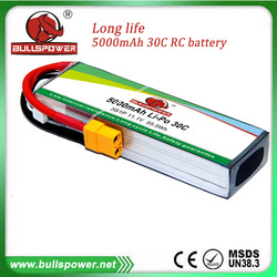 high discharge rate 3300mah5000mah 11.1v 752540 rc lithium battery