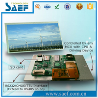 "7"" rs232 lcd display module with Controller + Touchscreen +Serial Interface +USB port"
