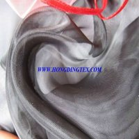 black organza fabric for upholstery and garment