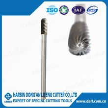 Special customized deburring tool rotary burr