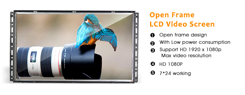 China 19 inch open frame lcd monitor 19 inch open frame lcd monitor