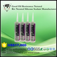 Good Oil Resistance Netural Rtv Neutral Silicone Sealant Manufacturer
