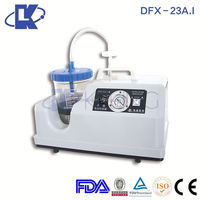 DFX-23A.I portable vacuum pumps Automatic stomach cleaning and sputum suction machine portable suction devices