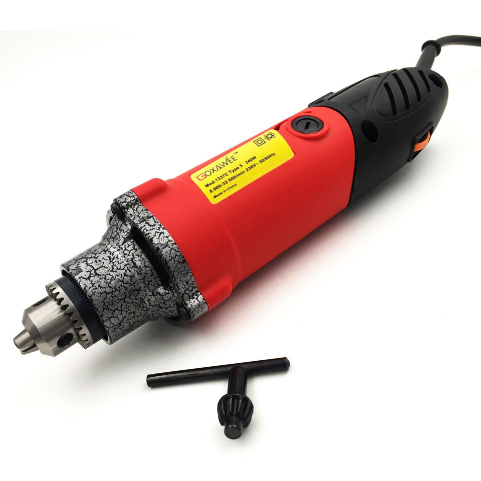 GOXAWEE Mini Power Tools 240W Rotary Tool Electric Grinder With Flex Shaft Mini Die Grinder Kit