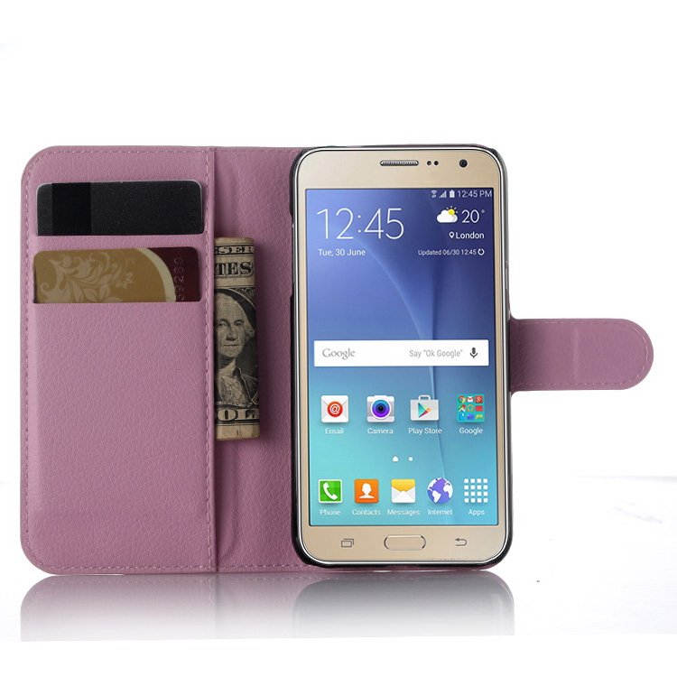 Alibaba china professional leather case for samsung j3