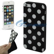 Dot Pattern Shape TPU case cover for iphone5