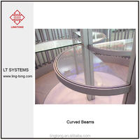 Curved Aluminium Beam 40mm For Exhibition