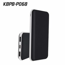10000mah polymer thin power bank with type c port