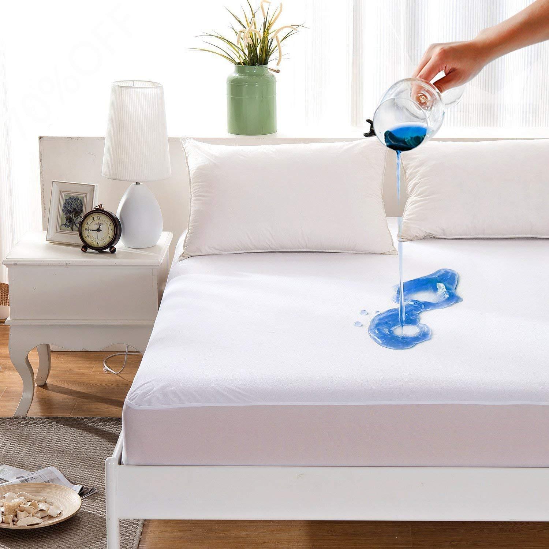 80% Cotton 20% Polyester Mattress Protector Cover Bed Sheet Waterproof - Jozy Mattress | Jozy.net