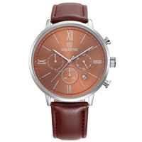 Geneva men quartz watch man chronograph clock metal man's watch