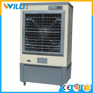 stand air cooler fan /misting air cooler /portable evaporative air cooler outdoor use air cooling fan