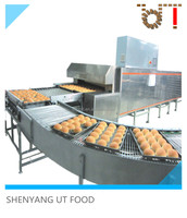 UT FOOD stainless steel commercial infrared bread tunnel oven baking