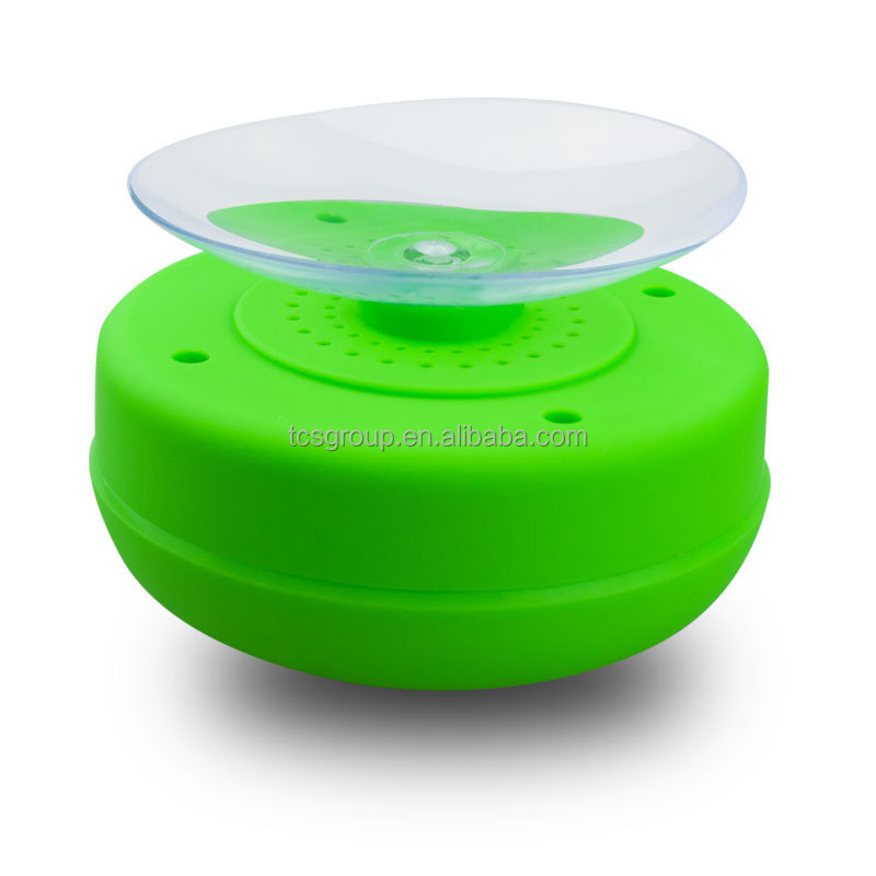 Innovative Waterproof Bluetooth Speaker With Silicon Suction Cup