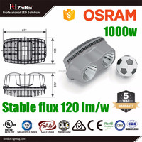 super high power 1000w flood light football stadium lighting LED