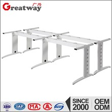 Call center workstation used metal table leg