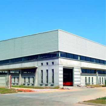 Prefabricated Metal building Material Steel Structure Space Frame Factory Body Building