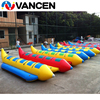Vancen OEM Durable CE and SGS certified Cheap Price Large One Tube Yellow inflatable water banana boats