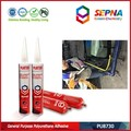 Paintable and Primerless High Tensile Strenth Black Automotive Adhesive