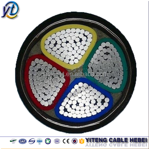 Aluminum Conductor xlpe/pvc Steel Wire/tape Amoured Power Cable