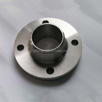 din standard weld neck raised face pipe flange dimensions